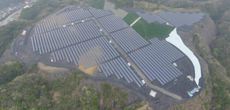 KJC 山口県 7.8MW 太陽光発電所