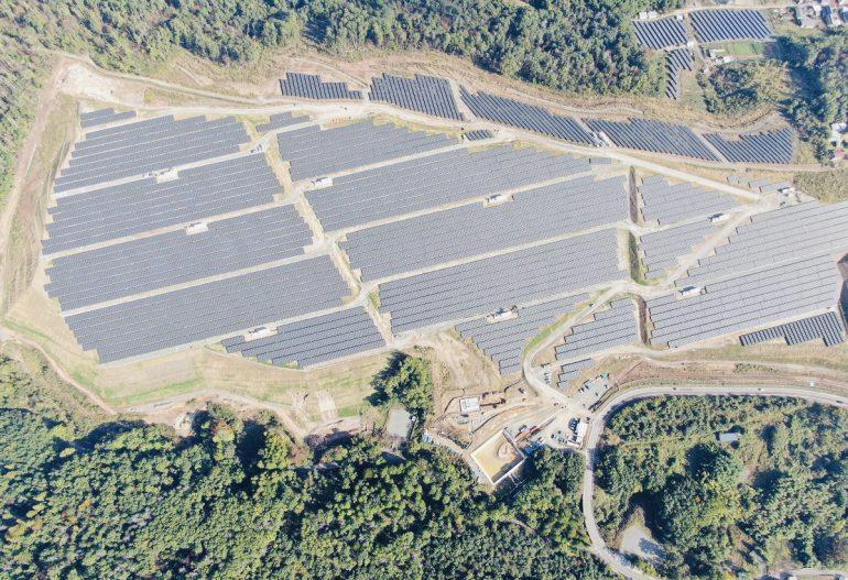 KJC 関東 22.2MW 太陽光発電所