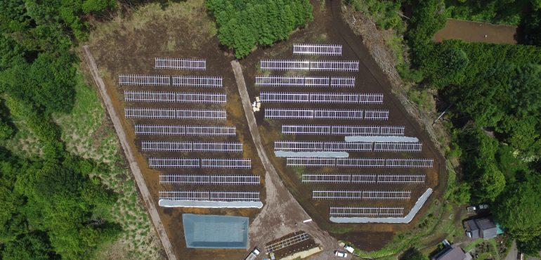 KJC 長野県 580kW 太陽光 架台